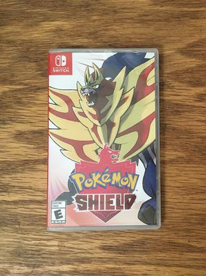 Pokemon Shield COMPLETE for Nintendo Switch video game console system cartridge for Sale in Brook Park, OH