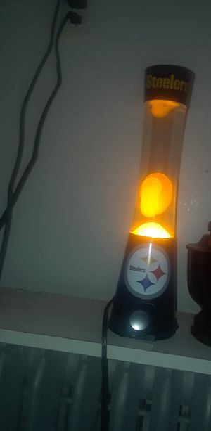 Steelers Lava Lamp /Bluetooth Speaker for Sale in Mount Oliver, PA
