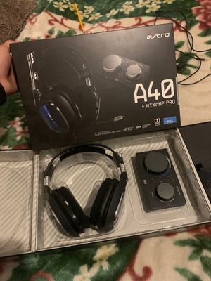 Astro A40 +Mixamp Pro For Ps4 for Sale in Federal Way, WA