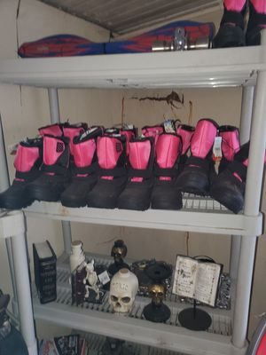 Winter boots size12 thru 4 girls for Sale in Falmouth, MA