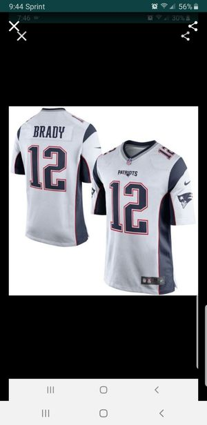 NEW PATRIOTS TOM BRADY JERSEY SIZE xl 100% STITCHED for Sale in Colton, CA