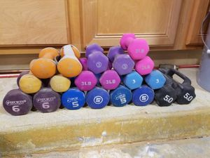 Free weight dumbbells for Sale in Mesa, AZ