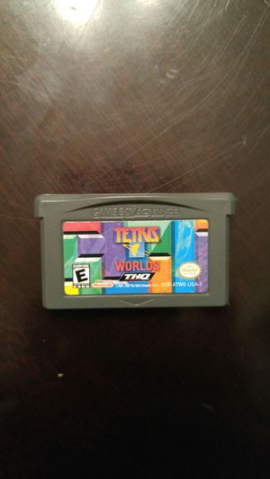 Nintendo Ds lite or game boy advance Tetris Worlds game for Sale in Lake Stevens, WA