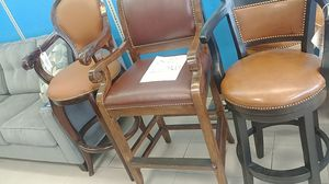 I have bars stools for sale solid wood very cheap for Sale in Houston, TX