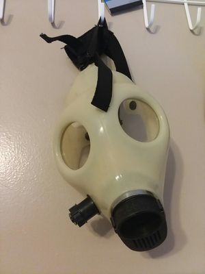 Glow in the dark gas mask. for Sale in Wenatchee, WA