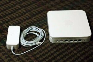 Apple airport extreme & power cord $58 OBO for Sale in Grand Junction, CO