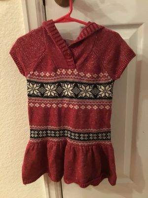 Girls Christmas top/dress for Sale in Colorado Springs, CO