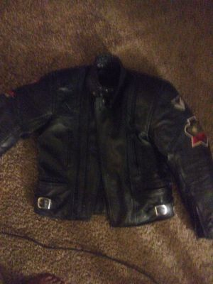 Motorcycle jacket leather for Sale in Tucker, GA