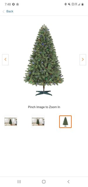 Color changing Christmas Tree for Sale in CRYSTAL CITY, CA