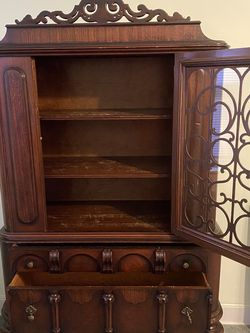 Antique China Cabinet With Drawers for Sale in The Bronx,  NY