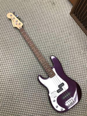 Metallic Purple Left-Handed Squier Fender Precision Bass for Sale in Woodbridge, VA
