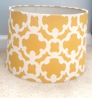 (2) Textured Accent Table Lamps with shades for Sale in Bowie, MD