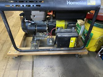 Homelite generator for Sale in Snohomish,  WA