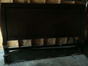 King size bed frame for Sale in Johnston, IA