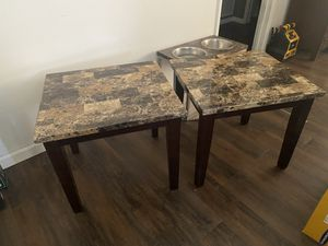 Wood coffee table and end tables for Sale in Simi Valley, CA