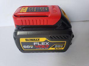 Dewalt 60V Volt MAX FleXvolt Lithium Ion Power Tool Battery for Sale in Seattle, WA