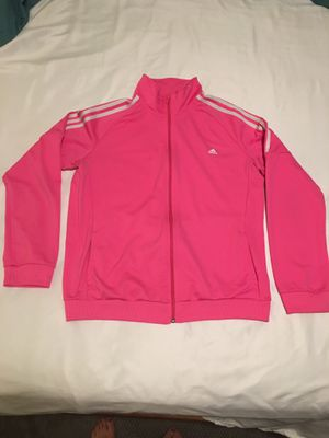Women's Large Adidas pink jacket for Sale in Mesa, AZ
