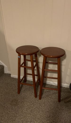 Wooden bar stools for Sale in Alexandria, VA