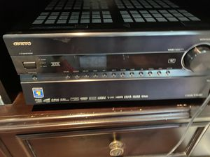 Onkyo home theater receiver for Sale in St. Louis, MO