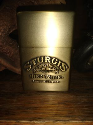 limited Edition Sturgis bike week Zippo style lighter for Sale in Chula Vista, CA