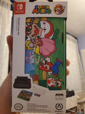 Super Mario Stealth Case Kit for Sale in New Britain, CT