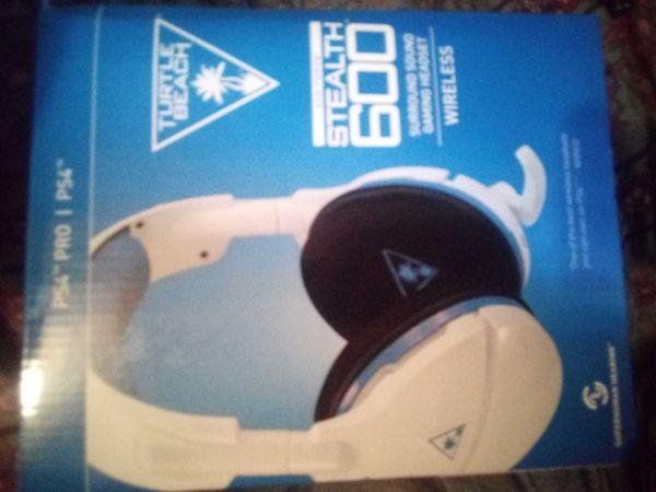 Turtle Beach wireless PS4 headphones