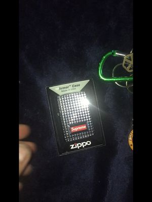 Supreme zippo lighter for Sale in Philadelphia, PA
