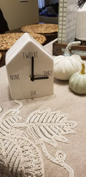 Rae dunn Lettered clock for Sale in Mount Prospect, IL