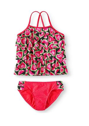 Brand new Melon Love Tiered Tankini Swimsuit (Little Girls, Big Girls & Big Girls Plus 14/16 (pick up only) for Sale in Alexandria, VA