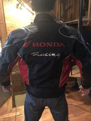 Honda Racing Textile Motorcycle Jacket w/ removable liner for Sale in Denver, CO