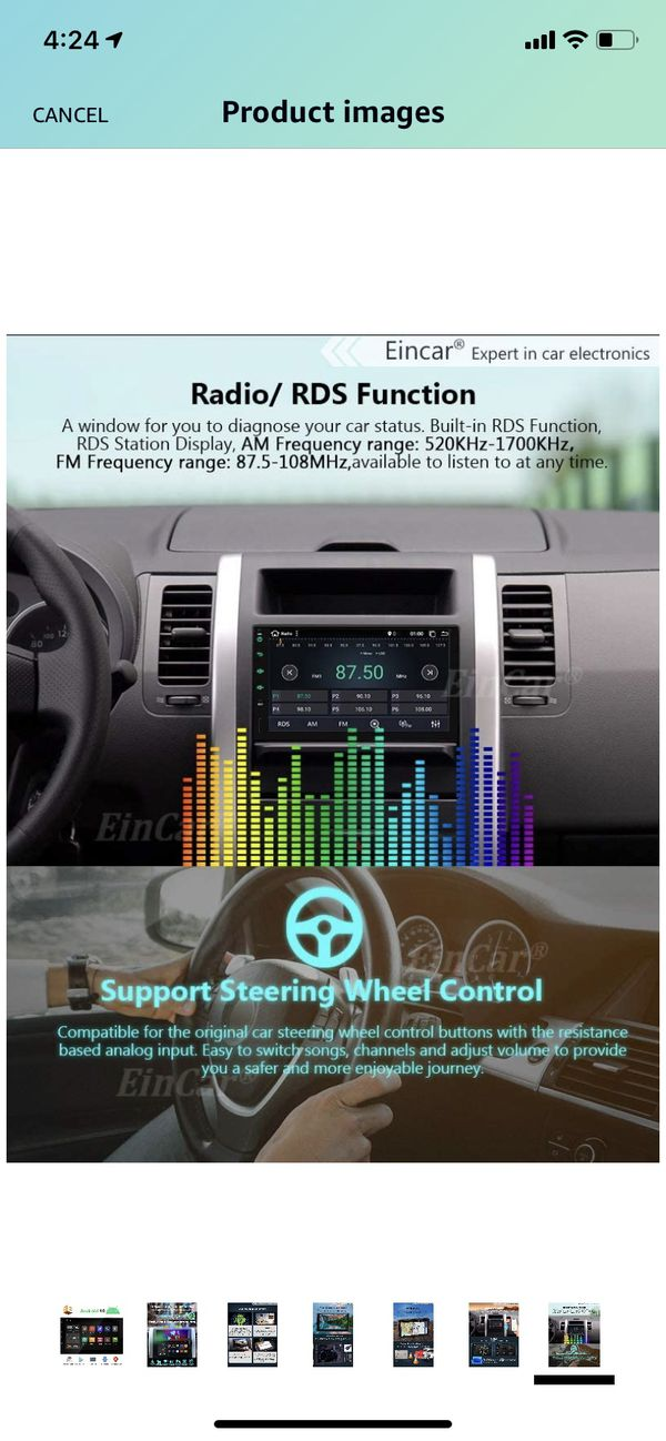 Brand new Android 10.0 Car Stereo 2 Din GPS Navigation with 7 inch Touch Screen