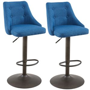 Adyson Air Lift Stool, set of 2 in Blue for Sale in Miami, FL