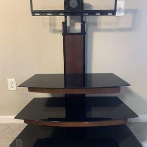 3 Shelf Glass TV Stand for Sale in Atlanta, GA