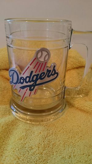 Dodgers glass beer mug 1990s for Sale in Montebello, CA