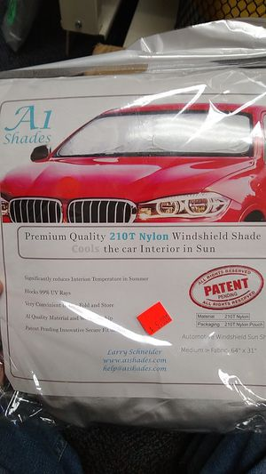 Windshield shade for Sale in Riverside, CA