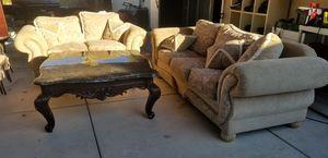 Couch & love seat for Sale in Pleasanton, CA
