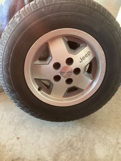 Jeep rims and tires for Sale in Yelm,  WA