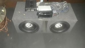 Kickerbox amp stereo I have all the jacks and power line for Sale in Columbus, OH