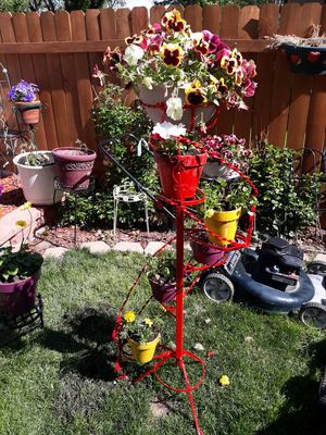 Wrought iron& Flowers for Sale in Colorado Springs, CO