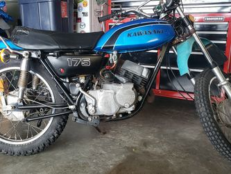 1974 Kawasaki F7 175cc Stroke STREET LEGAL!! for Sale in Ellensburg,  WA