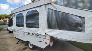 Forest River Popup Camper~Great Condition~ New Canvas~New Memory Foam Mattresses ~ New Vinyl Flooring~Fresh Paint for Sale in Fearrington, NC