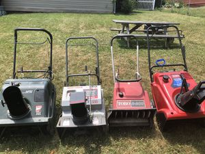SnowBlowers for sale as a lot. for Sale in Monroeville, PA