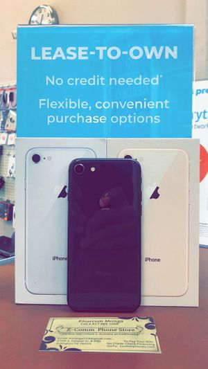 Apple iPhone 8 256Gb / 128Gb / 64Gb - Unlocked / AT AND T T-Mobile Verizon Sprint Starting @ for Sale in Arlington, TX