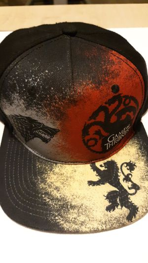 Game Of Thrones HBO Series Adjustable SnapBack Cap for Sale in Wenatchee, WA