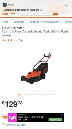 Electric lawn mower for Sale in Las Vegas, NV