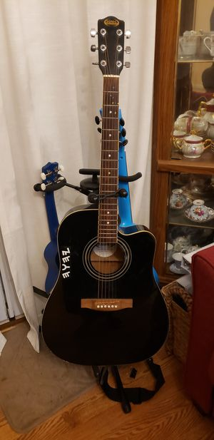 Sonic 6 string acoustic/electric guitar for Sale in Gaithersburg, MD