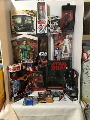 Huge Lot Of Star Wars Action Figures and Toys NEW for Sale in Tupelo, MS