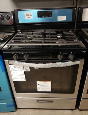 New Whirlpool Stainless Steel Gas Stove Oven Range..1 Year Manufacturer Warranty for Sale in Chandler, AZ