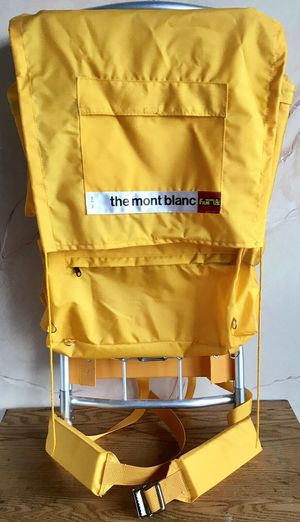 Vintage Mont Blanc World Famous - Hiking Backpack for Sale in Palos Park, IL