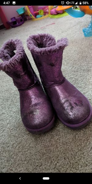 11-12 girl boots for Sale in Kenneth City, FL